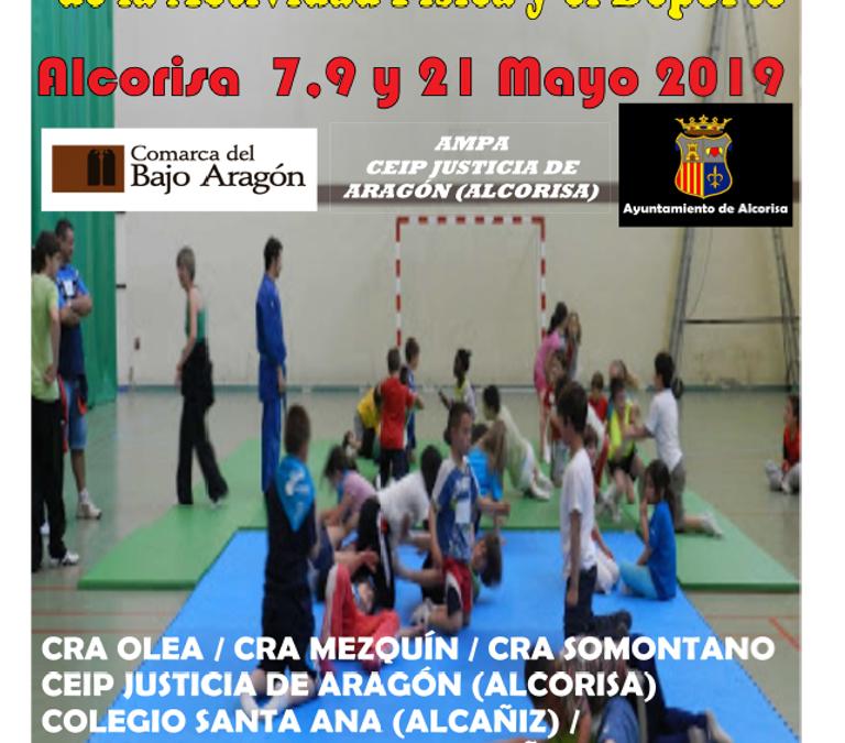 Presentación de las XII Jornadas de Promoción  de la Actividad  Física y del Deporte.