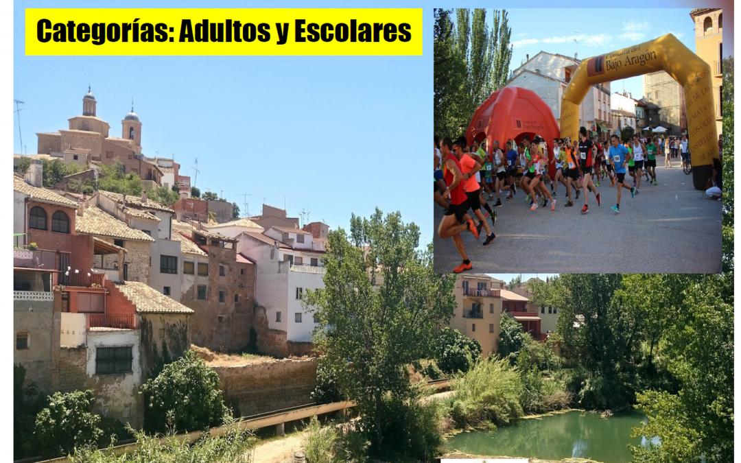 XII Carrera Popular Villa de Castelserás. 02 de Agosto.