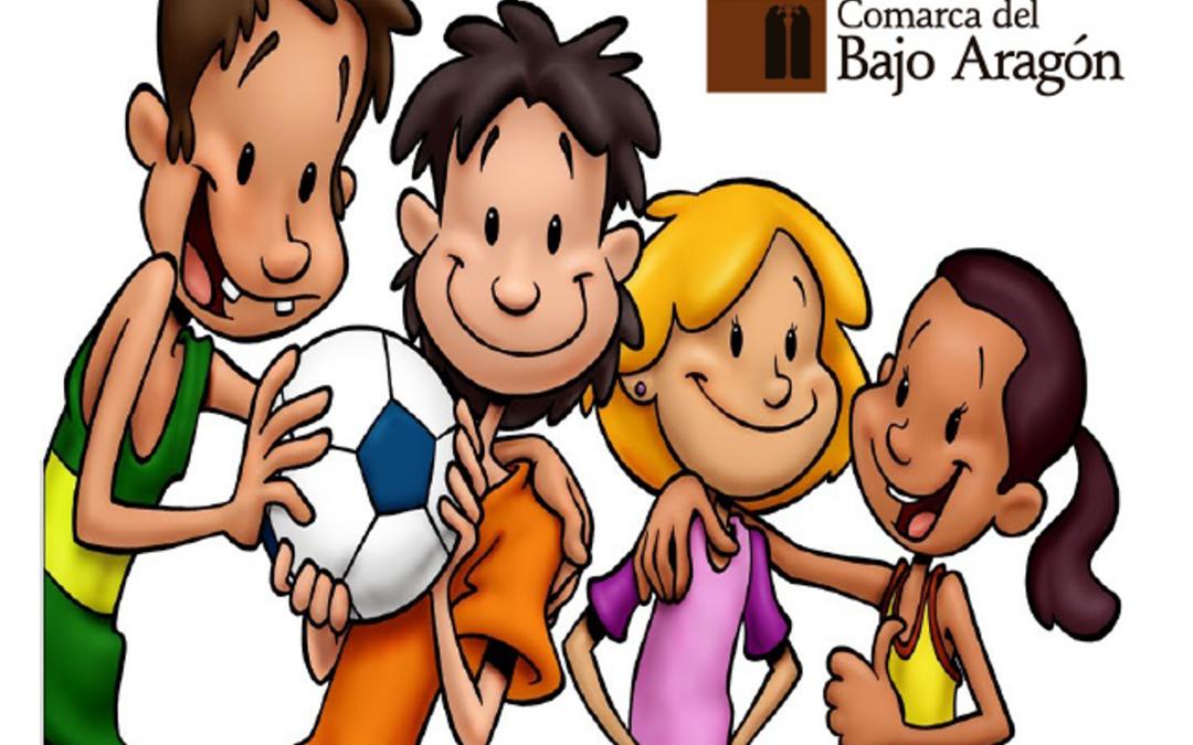 La Comarca del Bajo Aragón presenta sus actividades deportivas para el curso 2020-2021