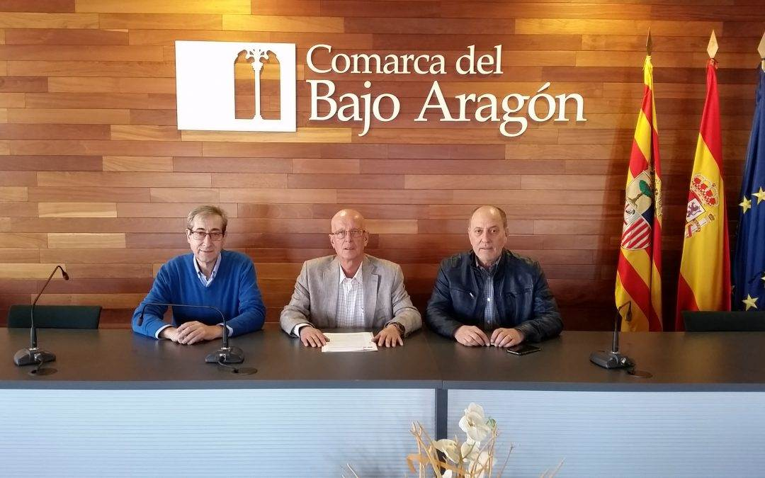 La Comarca del Bajo Aragón renueva su compromiso con   la Fundación Centro Buñuel Calanda.