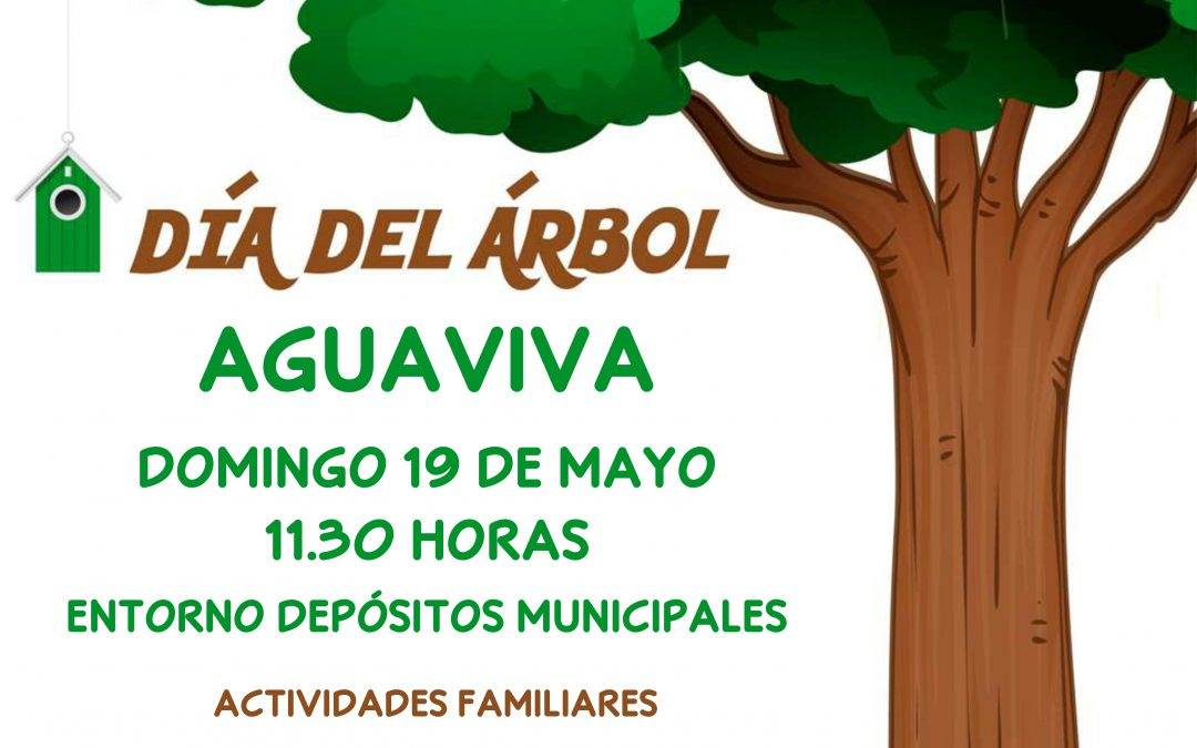 La Comarca del Bajo Aragón organiza el día del Árbol.