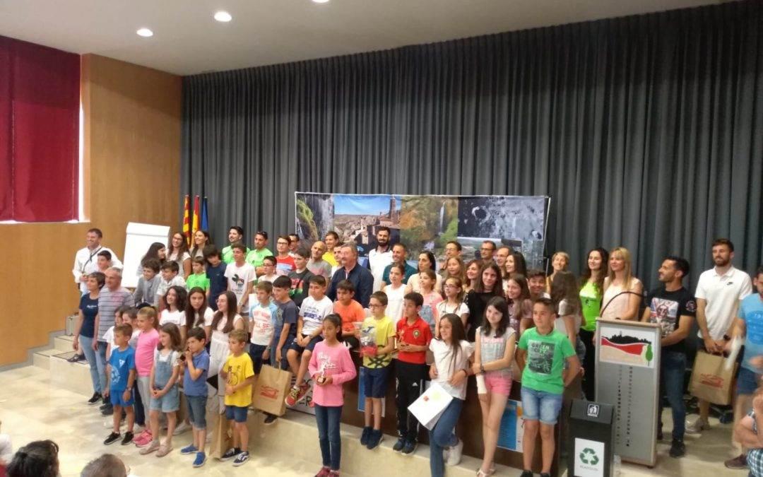 Entrega de Premios del VI Circuito Intercomarcal de Carreras Escolares 2018-2019.