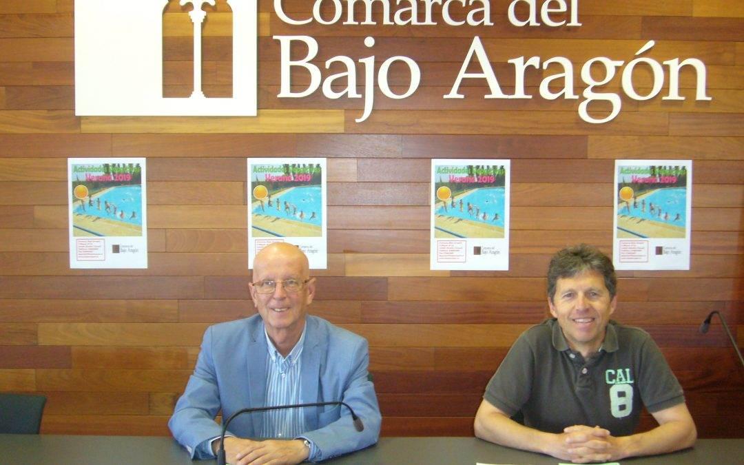 La Comarca del Bajo Aragón presenta sus actividades deportivas para este Verano.