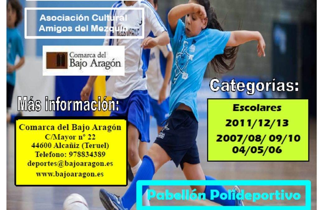 Torneo de Fútbol Sala Infantil, Belmonte de  José, 05 de Agosto