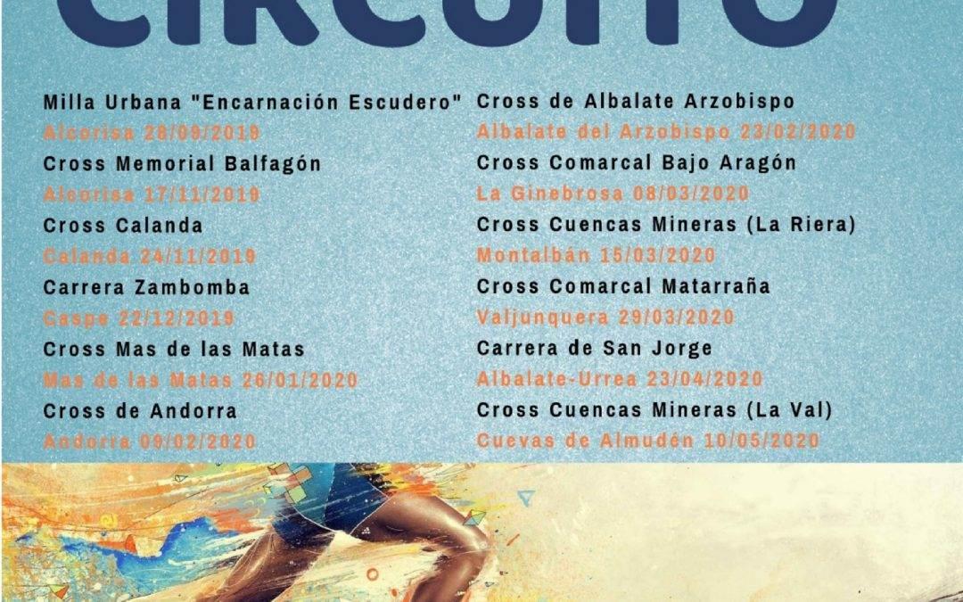 VII Circuito Intercomarcal de Carreras Escolares 2019-2020