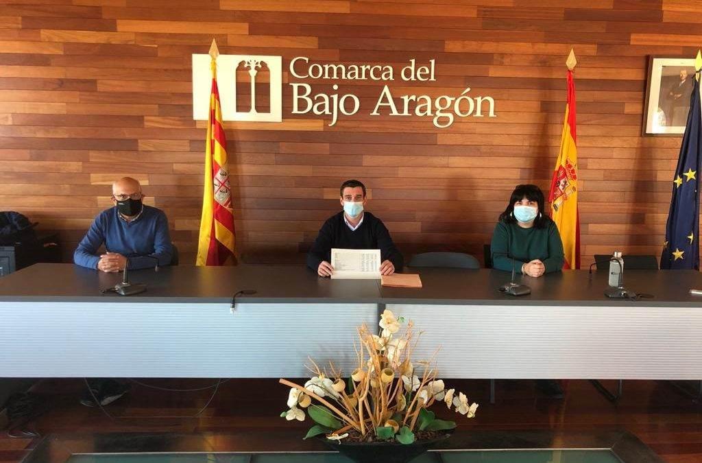 La Comarca del Bajo Aragón aprueba sus presupuestos para el año 2021, sin ningún voto en contra.
