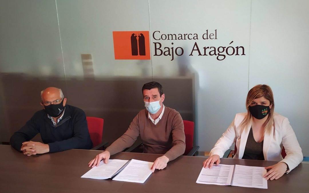 La Sede de la comarca del Bajo Aragón medioambientalmente más sostenible.