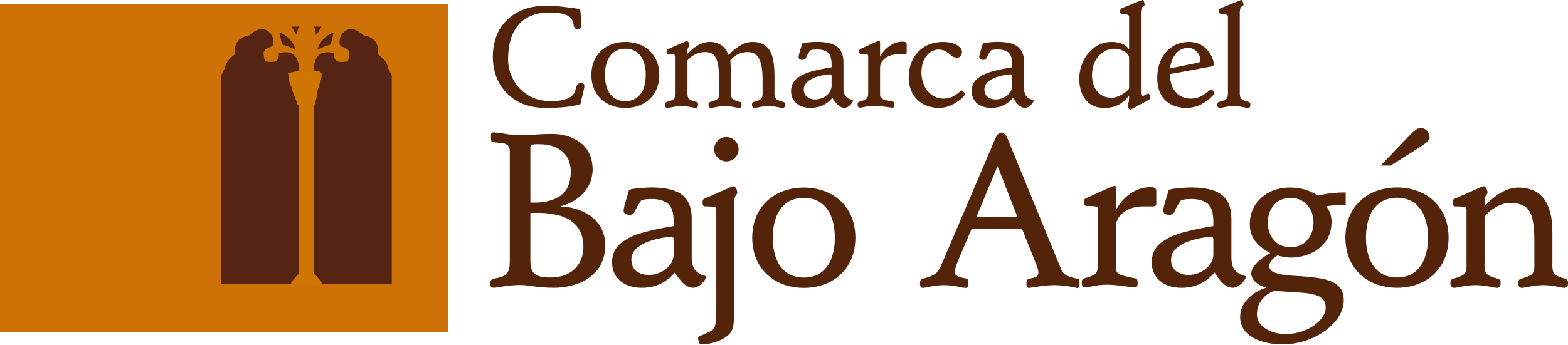 logotipo comarca bajo aragón
