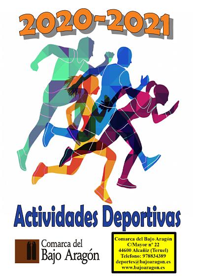 La Comarca del Bajo Aragón presenta sus actividades deportivas para el curso 2021-2022