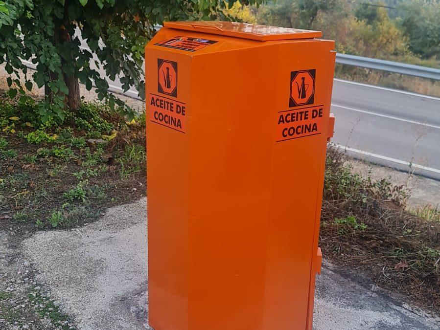 Nuevo servicio de recogida separada de aceite doméstico usado en la Comarca del Bajo Aragón.